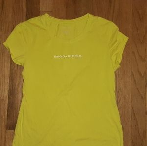 A green Banana Republic Large shirt for youth/kid